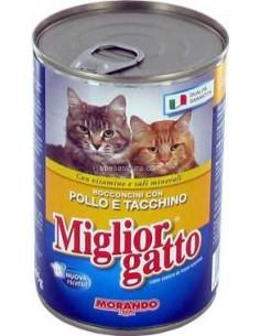 MORANDO MIGLIOR GATTO – POLLO - TAMAÑO: 400 GR