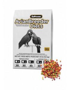 ZUPREEM AVIAN BREEDER DIETS NINFAS - TAMAÑO: 18,14 KG