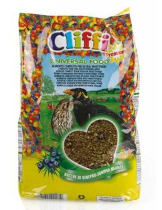 UNIVERSAL FOOD CLIFFI - TAMAÑO: 1 KG