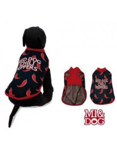 ABRIGO CAPA FELPADO RED DOG MI&DOG - TALLA: 20 CM