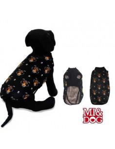 ABRIGO CAPA FELPADO BLACK MI&DOG - TALLA: 20 CM