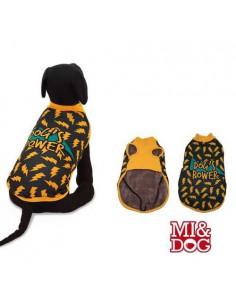 ABRIGO CAPA FELPADO DOGS POWER MI&DOG - TALLA: 20 CM