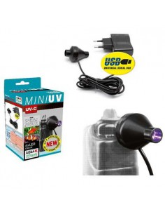 LAMPARA ULTRAVIOLETA MINI-UV-LED AQUAEL