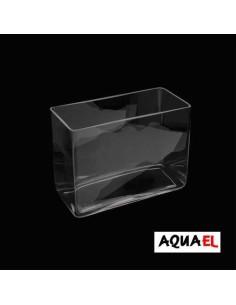 PECERA AQUA DECORIS CUBOID AQUAEL - TAMAÑO: 27,5 X 13 X 20 CM (7 LITROS)