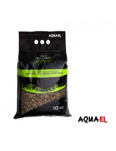 GRAVA NATURAL AQUAEL – 10 KG - TAMAÑO: 5 – 10 MM