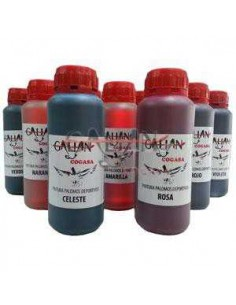 PINTURA PALOMOS GALIAN - 250 ML - COLOR: ROJO - TAMAÑO: 250 ML