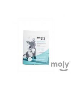 MOLY PUPPY PADS (10 UNIDADES) - TAMAÑO: PEQUEÑOS (60 X 60 CM)