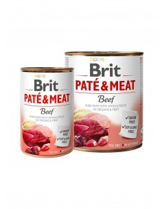 BRIT PATE & MEAT TERNERA
