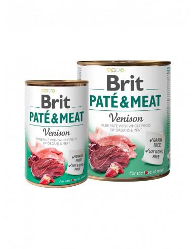 BRIT PATE & MEAT VENISON