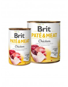 BRIT PATE & MEAT POLLO