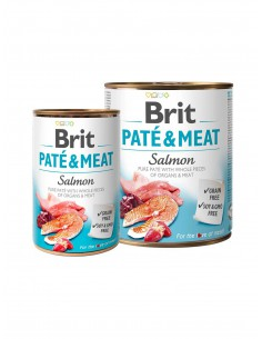 BRIT PATE & MEAT SALMON 1