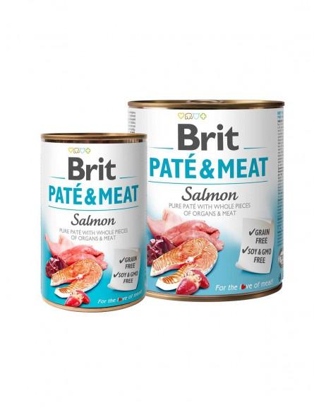 BRIT PATE & MEAT SALMON 1
