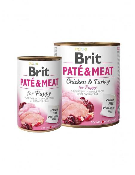BRIT PATE & MEAT CACHORROS