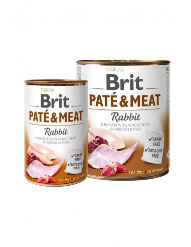 BRIT PATE & MEAT RABBITT