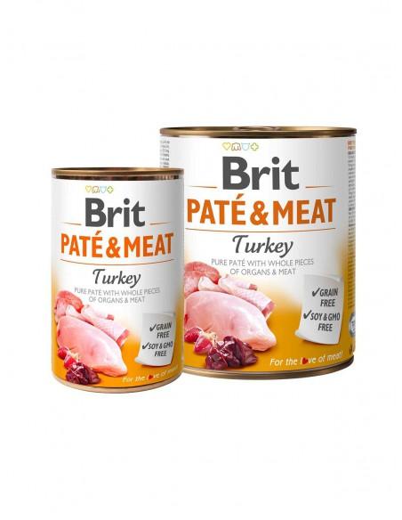 BRIT PATE & MEAT TURKEY