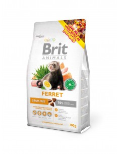 BRIT ANIMALS FERRET - TAMAÑO: 700 GR