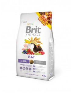 BRIT ANIMALS RAT COMPLETE - TAMAÑO: 300 GR