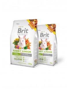 BRIT ANIMALS RABBIT JUNIOR COMPLETE - TAMAÑO: 300 GR