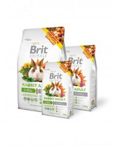 BRIT ANIMALS RABBIT ADULT COMPLETE - TAMAÑO: 300 GR
