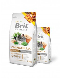 BRIT ANIMALS CHINCHILLA COMPLETE - TAMAÑO: 300 GR