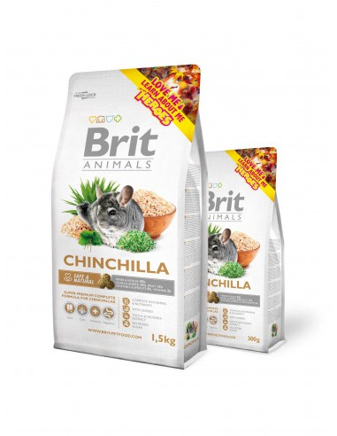 BRIT ANIMALS CHINCHILLA COMPLETE - TAMAÑO: 300 GR