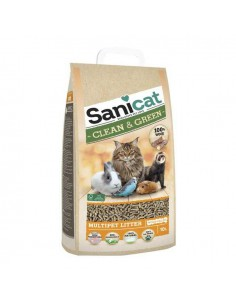 SANICAT CLEAN & GREEN - TAMAÑO: 10 LITROS