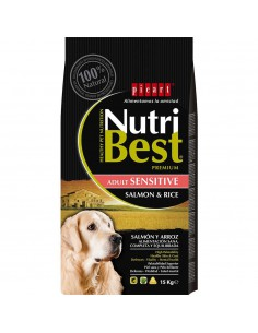 PICART NUTRIBEST SENSITIVE SALMÓN Y ARROZ - TAMAÑO: 3 KG