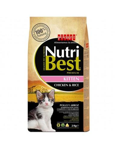 PICART NUTRIBEST CAT KITTEN POLLO Y ARROZ - TAMAÑO: 1,5 KG (+500 GR)