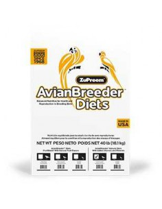 ZUPREEM AVIAN BREEDER DIETS NATURAL LOROS MEDIANOS - 1