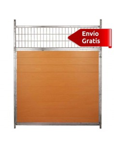 LATERAL DE BOXES PARA PERROS MIXTO COPELE - FRENTE: 150 CM