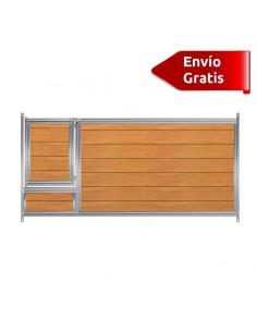 FRENTE DE BOXES PARA CACHORROS PVC COPELE - FRENTE: 150 CM