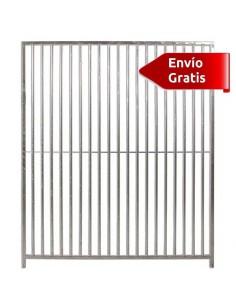 LATERAL DE BOXES PARA PERROS BARROTES ECO COPELE - FRENTE: 100 CM - TIPO: BARRAS 5 CM