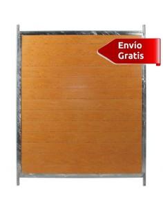 LATERAL DE BOXES PARA PERROS PVC COPELE - FRENTE: 150 CM