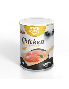 MARTY CHICKEN POLLO PARA GATOS - TAMAÑO: 100 GR
