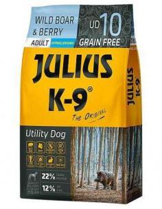 JULIUS K-9 UTILITY DOG JABALÍ Y BAYAS - TAMAÑO: 340 GR