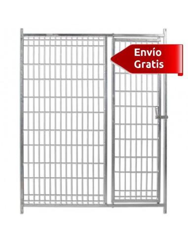 FRENTE DE BOXES PARA PERROS MALLA COPELE - FRENTE: 150 CM - MODELO: SIN COMEDEROS