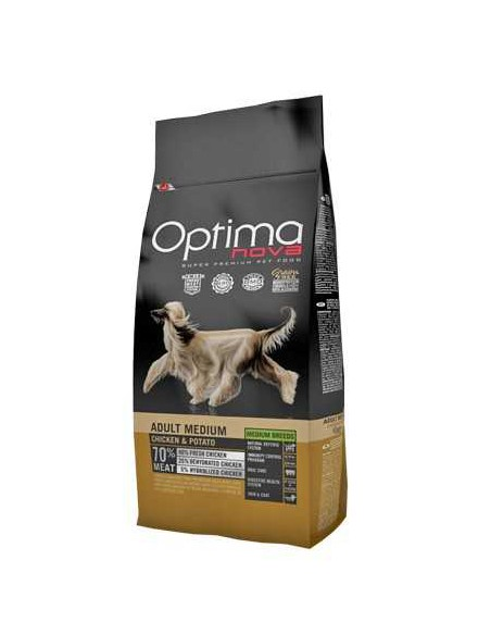 OPTIMA NOVA ADULT MEDIUM POLLO Y PATATA