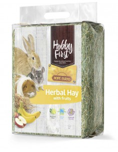 HOBBYFIRST HENO HERBAL HAY CON FRUTAS - 1 KG - TAMAÑO: 1 KG