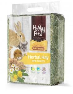 HOBBYFIRST HENO HERBAL HAY CON FLORES - 1 KG - TAMAÑO: 1 KG