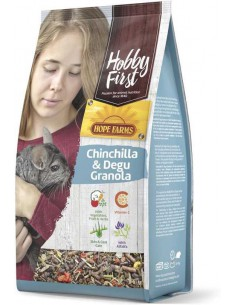 HOBBYFIRST CHINCHILLA & DEGU GRANOLA - 2 KG - TAMAÑO: 2 KG