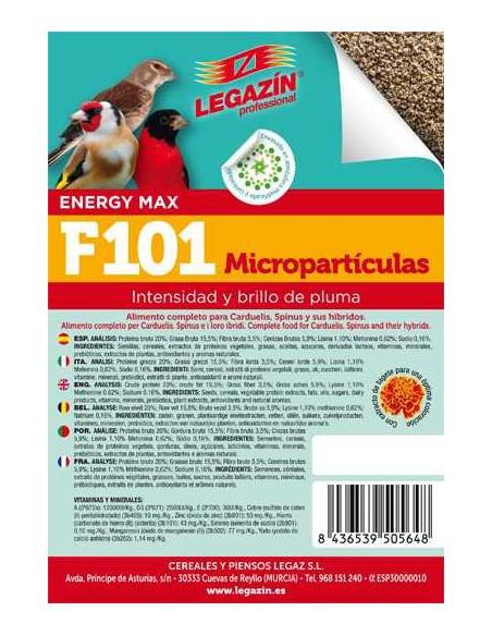 PIENSO LEGAZÍN F101 MICROPARTÍCULAS