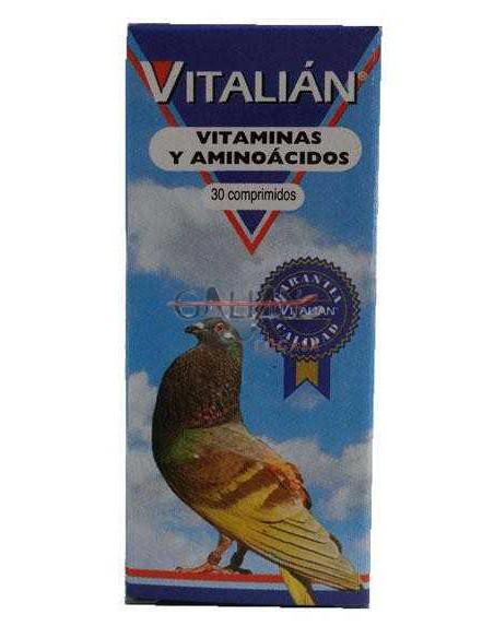 VITAMINAS Y AMINOÁCIDOS PARA PALOMAS VITALIAN