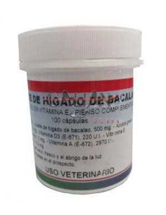 ACEITE HIGADO BACALAO VITALIAN - 100 COMPRIMIDOS
