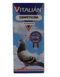 VITALIAN COMPETICION - 30 COMPRIMIDOS - TAMAÑO: 30 COMPRIMIDOS