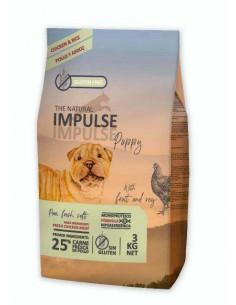 THE NATURAL IMPULSE DOG PUPPY CHICKEN - TAMAÑO: 3 KG