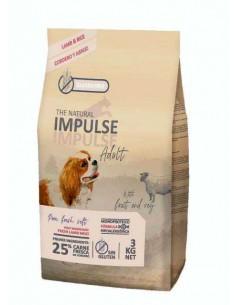 THE NATURAL IMPULSE DOG ADULT LAMB - TAMAÑO: 3 KG