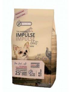 THE NATURAL IMPULSE DOG MINI CHICKEN - TAMAÑO: 3 KG