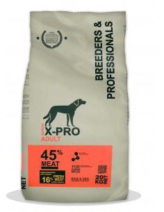 X-PRO PROFESSIONAL DOG ADULT - 20 KG - TAMAÑO: 20 KG