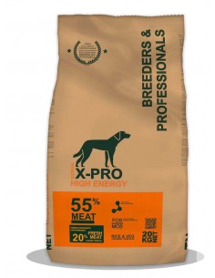 X-PRO PROFESSIONAL DOG HIGH ENERGY - 20 KG - TAMAÑO: 20 KG