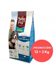 HOBBYFIRST CANEX ADULT FISH & RICE MAXI - 12 KG - TAMAÑO: 12 KG